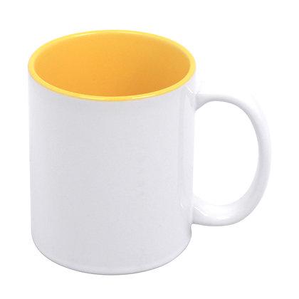 11oz Ceramic Mug for sublimation - Colorful interior