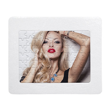 Sublimation Puzzle with 63 pieces and holder