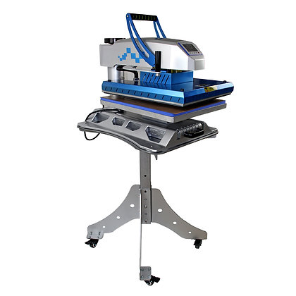 Mecolour Swing Away Heat Press Machine with Slide Out Drawer