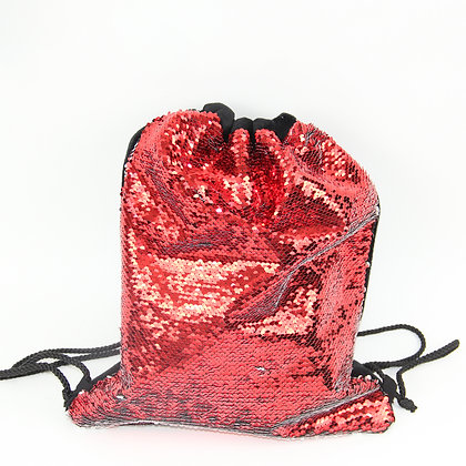 Sublimation Flip Sequins Drawstring Backpack