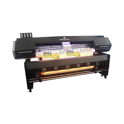 Digital printing machine ME-1600DHT for sublimation with two Epson DX5 heads