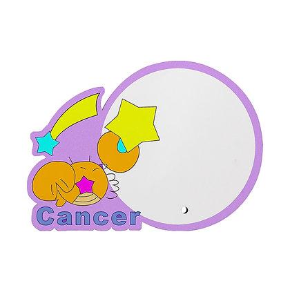 MDF wood Photo Frame - Cancer Zodiac Sign