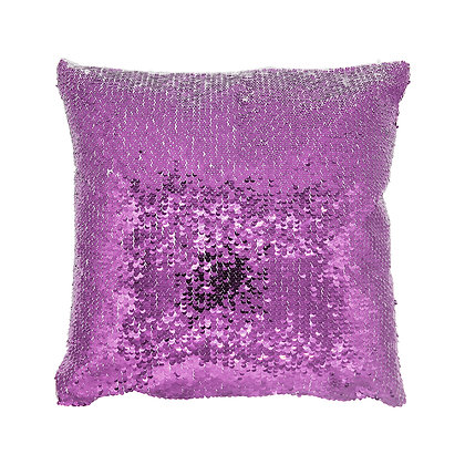 Sublimation Sequin Magic Pillow Case-pink
