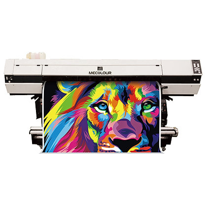 ME-1800THT 1,8m large format sublimation printer with three Epson DX5 heads