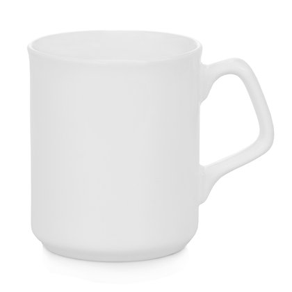 9oz Ceramic Mug with Square Handle