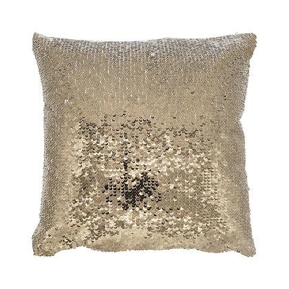 Sublimation Sequin Magic Pillow Case-gold