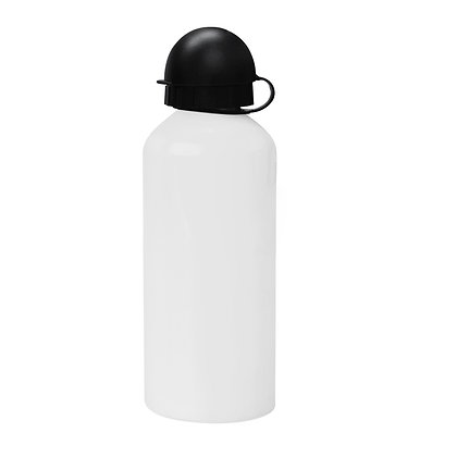 600ml Aluminium Water Squeeze sport bottle for sublimation