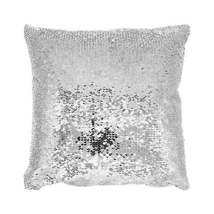 Sublimation Sequin Magic Pillow Case-silver