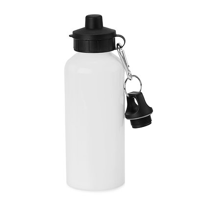 600ml Aluminium Water Squeeze sport bottle for sublimation - retractable nozzle