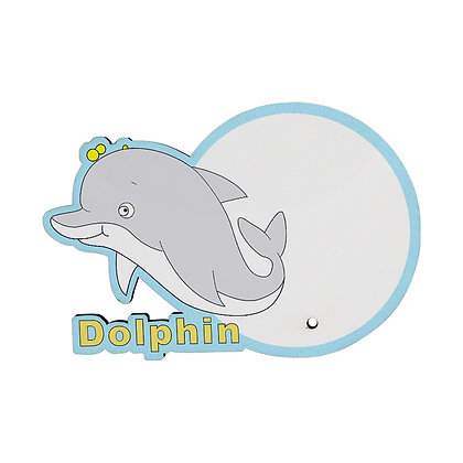 MDF wood Photo Frame - Dolphin