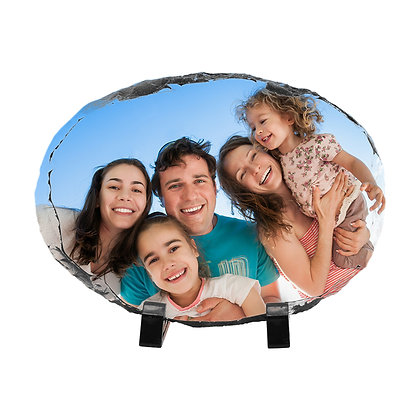 15x20cm Oval Slate Stone for sublimation
