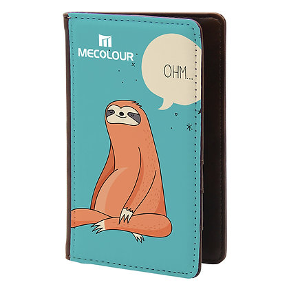 Leather passport case for sublimation