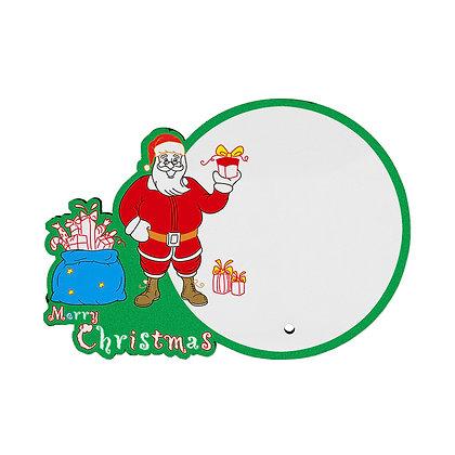 MDF wood Photo Frame - Santa Claus