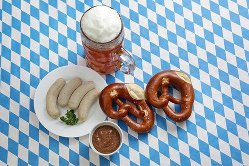 Bayrisches Weißwurst-Frühstück