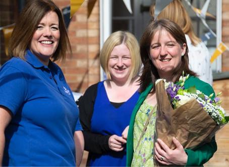 Minister Visits Elsie Inglis Nursery