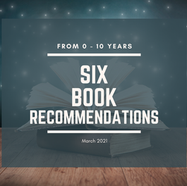 Book Recommendations from 0 - 10 years