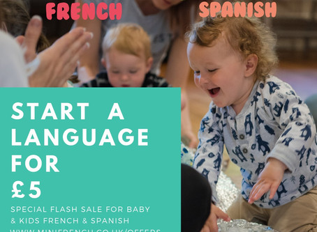Start a language for £5
