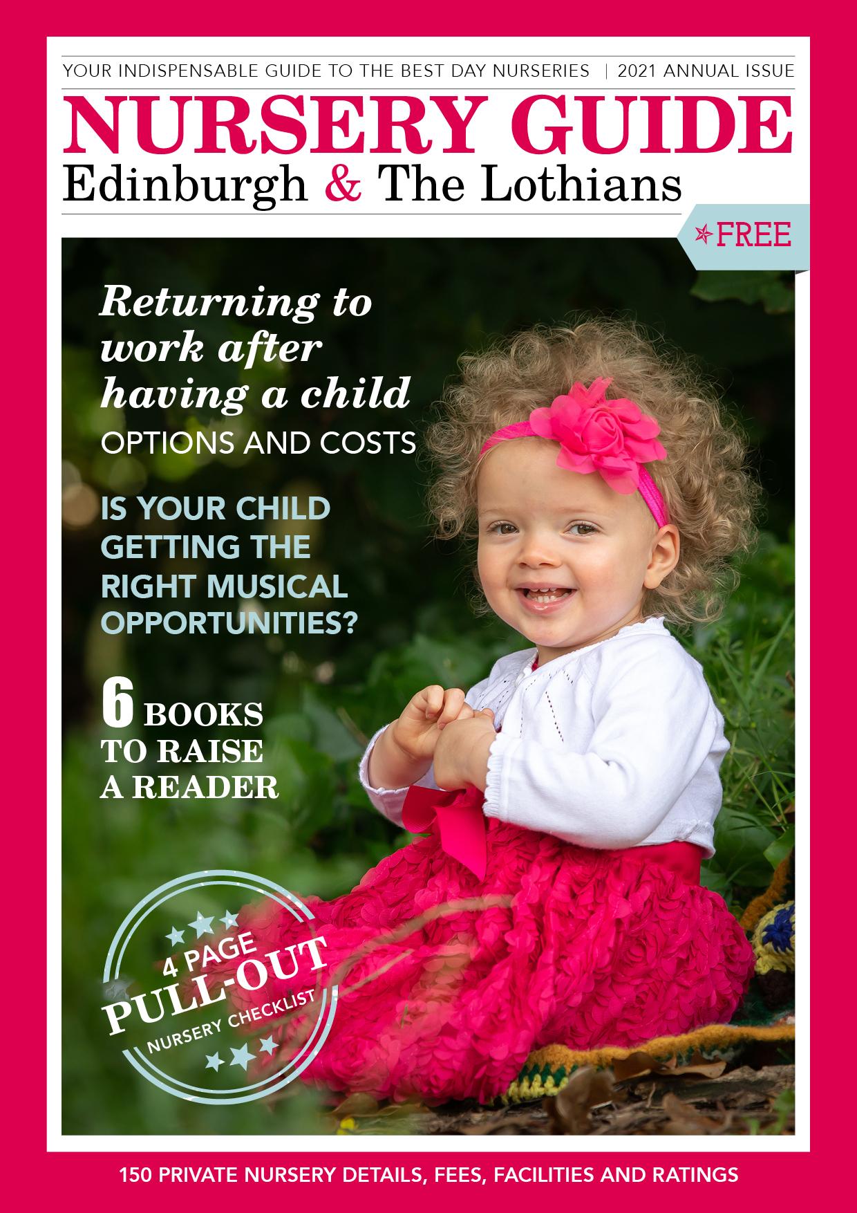 2021 Nursery Guide Edinburgh & the Lothians