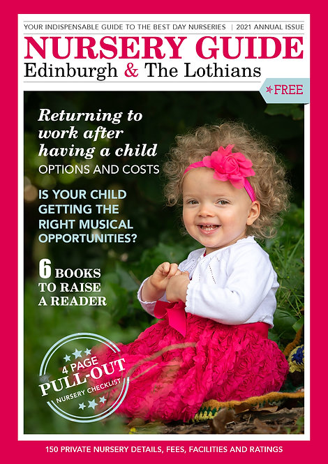 Nursery Guide, Edinburgh and the Lothian's 2021
