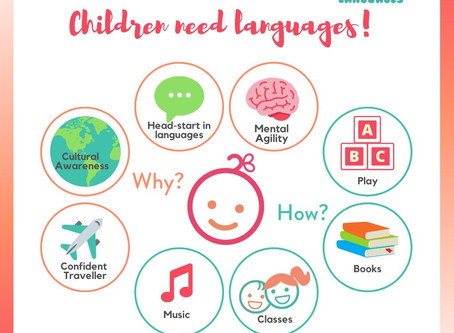 Would you like your child to learn a new language?