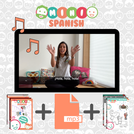 Kids French & Spanish Music & Movement Online Courses by Mini Languages®