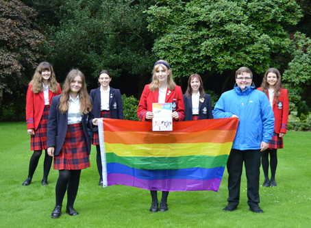 LGBT Youth Scotland gives The Mary Erskine School a Gold Award