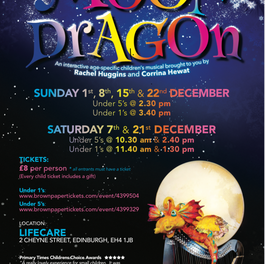 Bertie the Moon Dragon - comes to Stockbridge