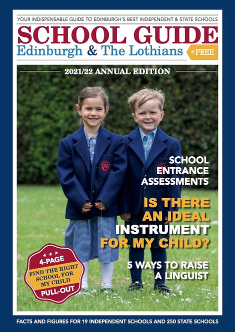 School Guide, Edinburgh & the Lothian's 2021/22