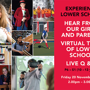 St George's School Experience Lower School Virtual Online Event for girls