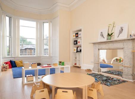 Casa Montessori: A children's house.
