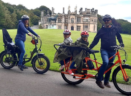 EZ Electric Bike Tours for families