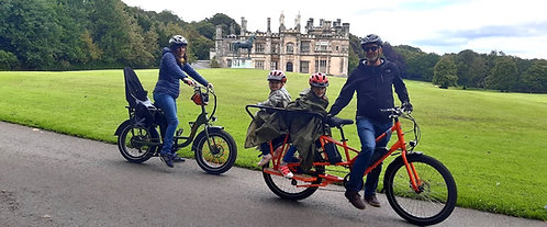 EZ Electric Bike Tours for families