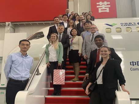 Visit to China's Largest Airplane Manufacturer COMAC