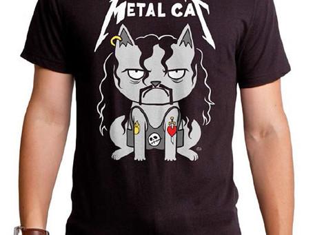 メタリカではなく、METAL CAT!