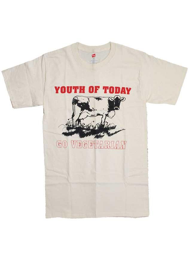 ユース オブ トゥデイ ( Youth Of Today ) Tシャツ Go Vegetarian