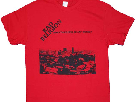 Bad Religion, Millencolin, EpitaphのTシャツが入荷