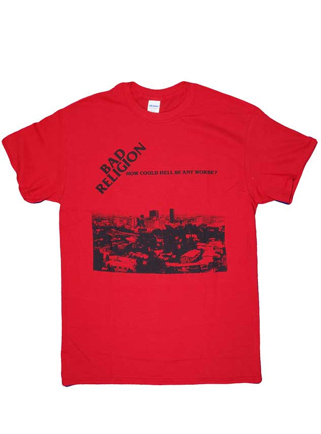 バッド レリジョン ( Bad Religion ) Tシャツ How Could Hell Be Any Worse