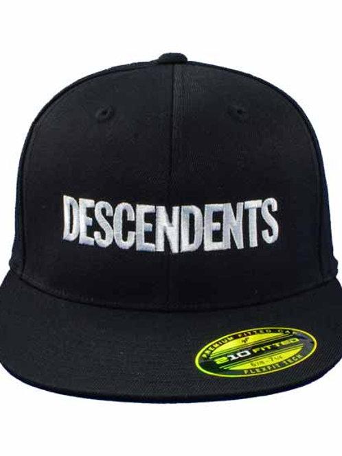 Descendents  6パネルキャップ バンドロゴ