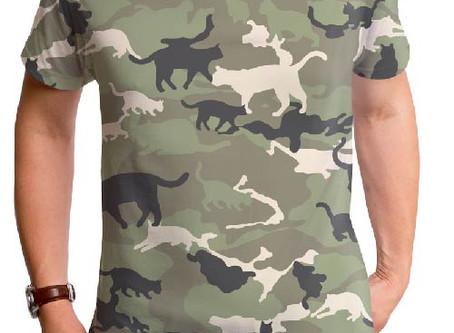 猫のおもしろいデザインのTシャツを集めてみました。