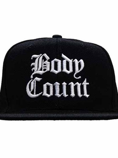 ボディー カウント ( Body Count ) 6パネルスナップバックキャップ ブラック