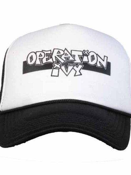 Operation Ivy 5パネルメッシュキャップ バンドロゴ