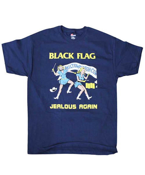 BLACK FLAG Tシャツ JEALOUS AGAIN