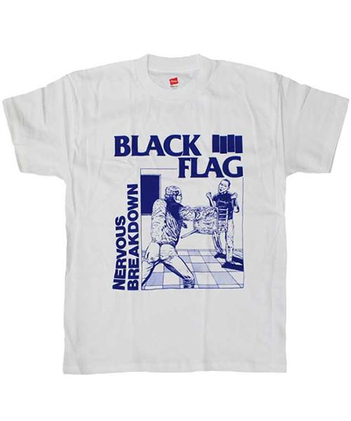 BLACK FLAG Tシャツ NERVOUS BREAKDOWN