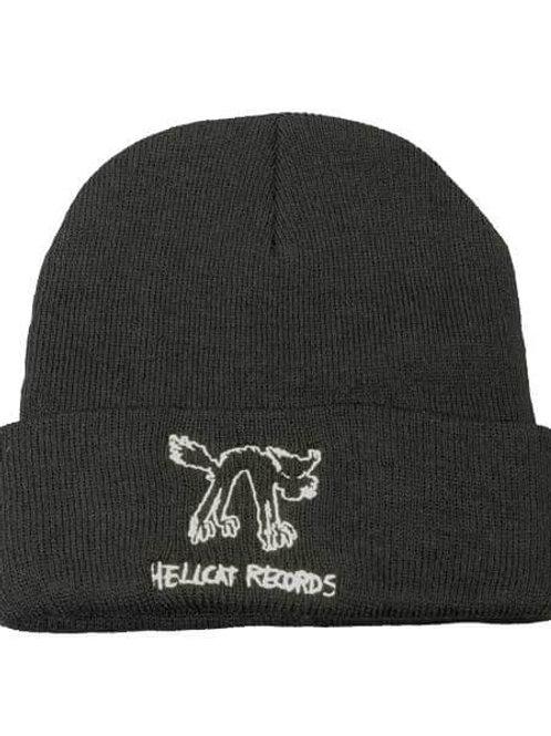 Hellcatレコード 刺繍ロゴビーニー