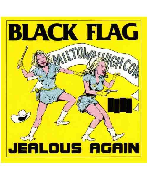 Black Flag - Jealous Againステッカー