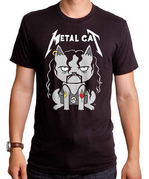 METAL CAT Tシャツ