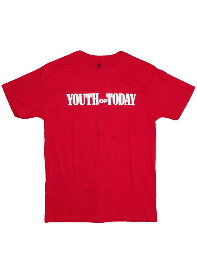 Youth Of Today ( ユース オブ トゥデイ ) Tシャツ We'Re Not In This Alone Red