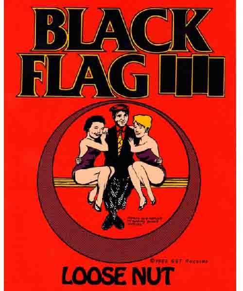 Black Flag - LOOSE NUT ステッカー