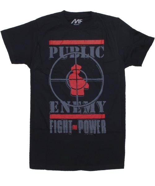 パブリックエネミー(Public Enemy) ラップバンドTシャツ メンズ Fight The Power