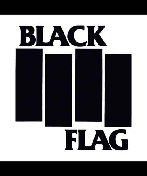 BLACK FLAG ステッカー BARS & LOGO